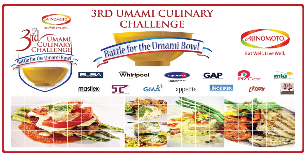 The Ajinomoto 3rd Umami Culinary Challenge Winners