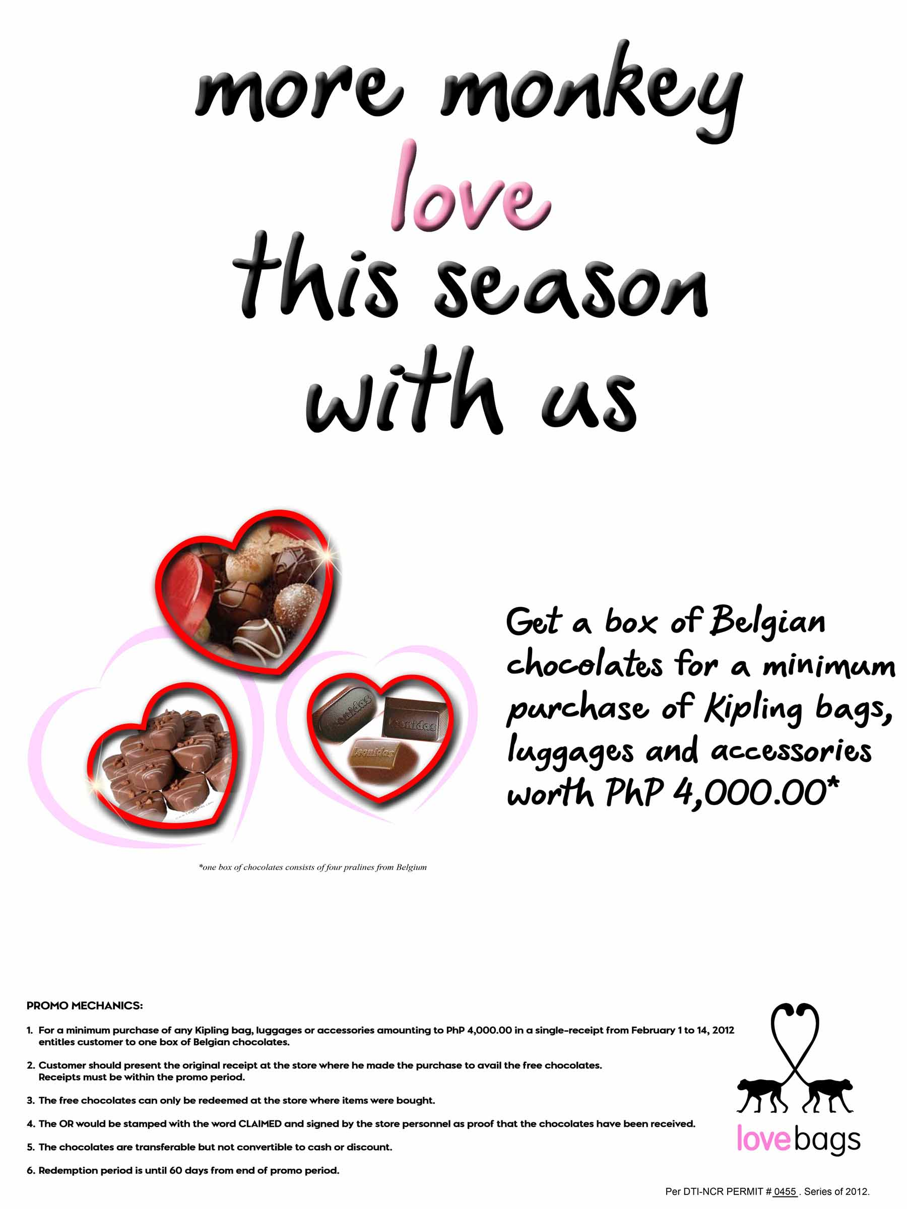 Enjoy a very Belgian Valentine's with Kipling