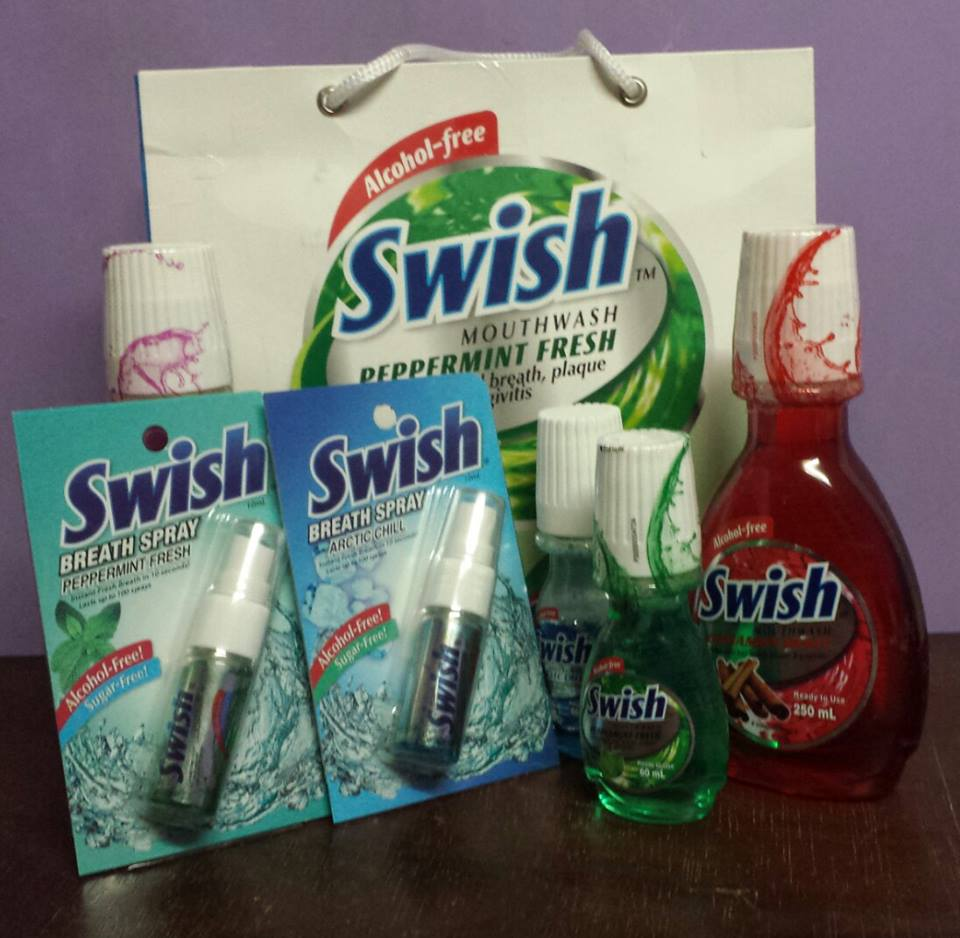 Fresh Breath Always with Swish Mouth Wash