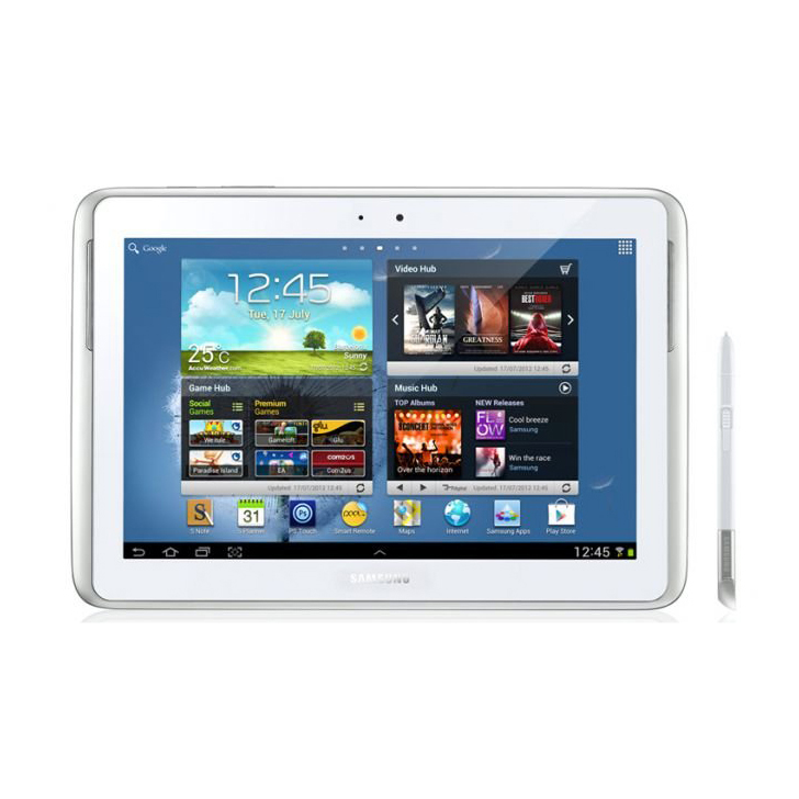"""Samsung Galaxy Note 10.1"""" N8000 16GB with 3G and Wi-Fi"""