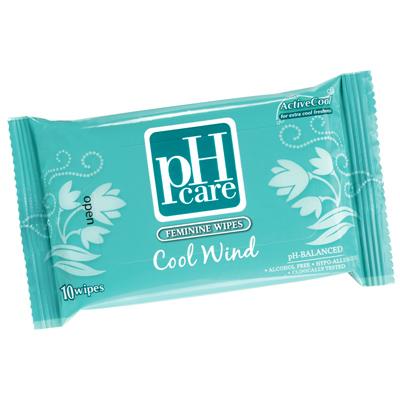 ph care feminine wipes