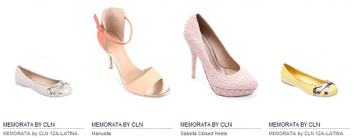 Shoe Designs by Memorata of CLN