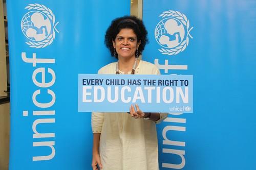 Zafrin Chowdhury of UNICEF