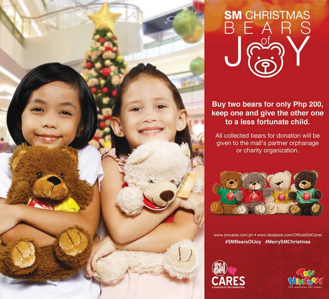 Make a Child Happy with SM Bears of Joy by SM Cares!