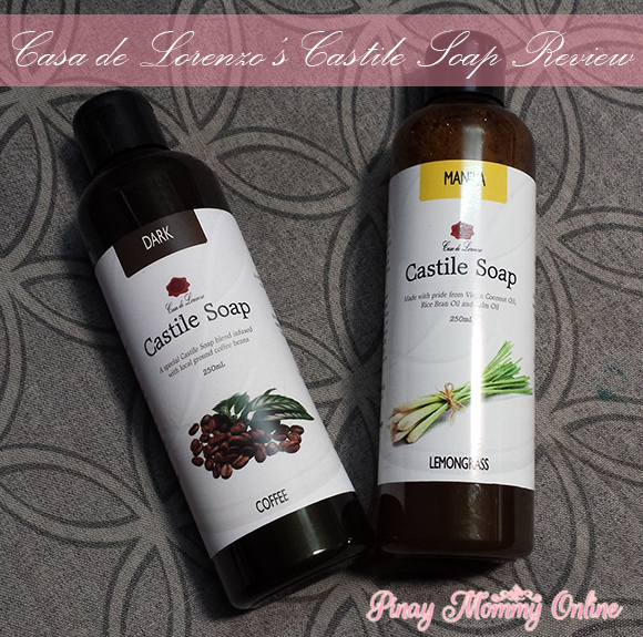 Casa de Lorenzo's Castile Soap ~ All Natural Food for Your Skin