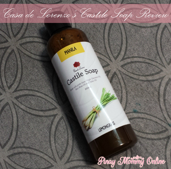 Lemongrass Manila Castile Soap