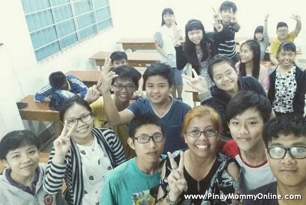 Students in Vietnam