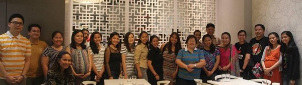 CDO Bloggers Induction of Officers 2015