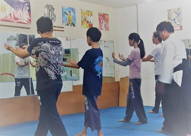 Learning Aikido