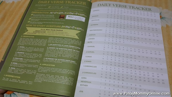 Daily Verse Tracker