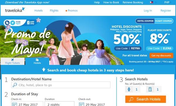 Traveloka Website