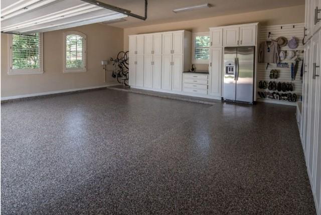 garage floor epoxy coating