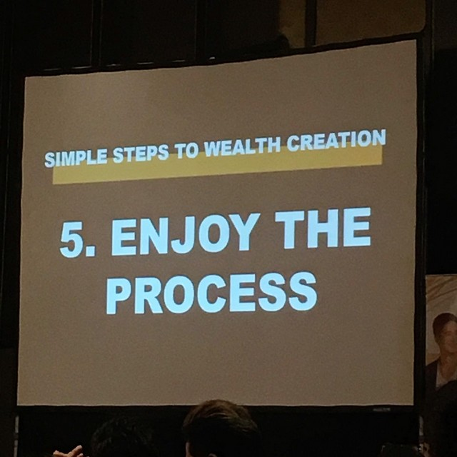 Enjoy the process.