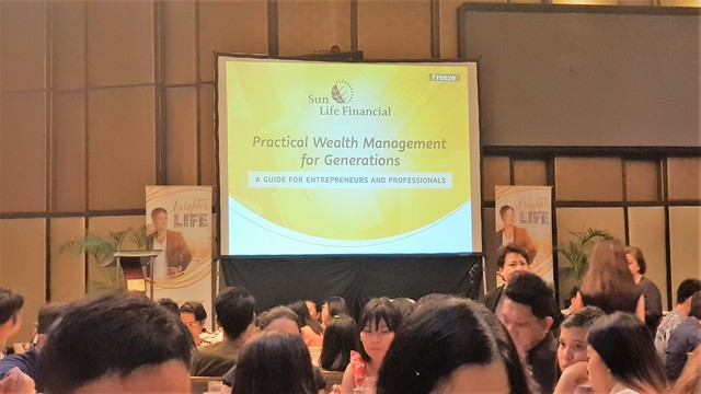 A Very Productive Evening with Sun Life