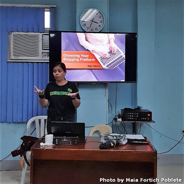 Blogging 101 Workshop Resource Speaker