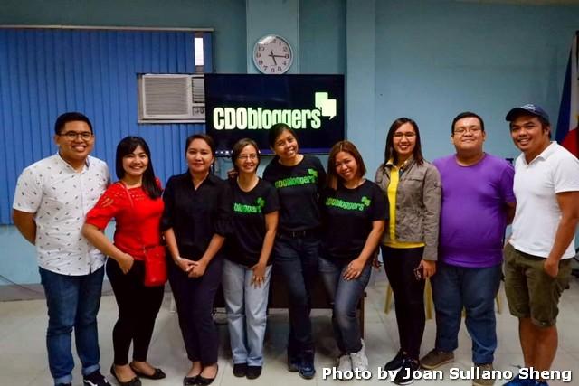 CDO Bloggers Blogging 101 Workshop Attendees