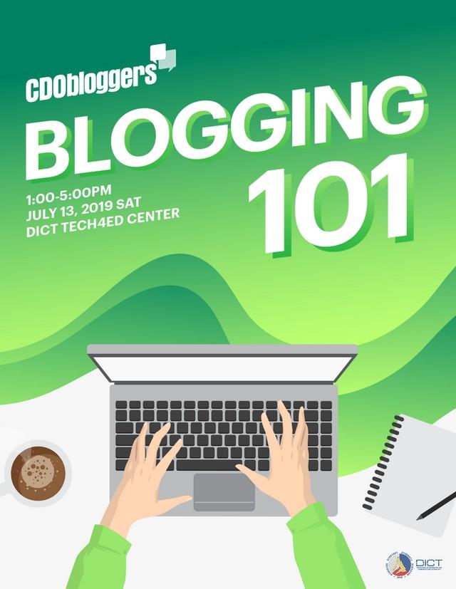 CDO Bloggers Blogging 101 Workshop