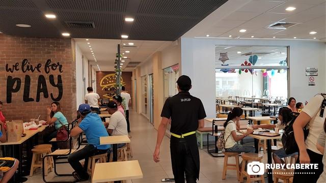 Bigger Dining Area