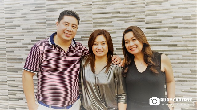 Mich and My Nails Owners and Miss Ivy