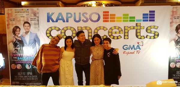 The Sweet Heart And The Balladeer Kapuso Stars