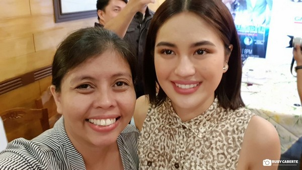 With Kapuso Star Julie Anne San Jose