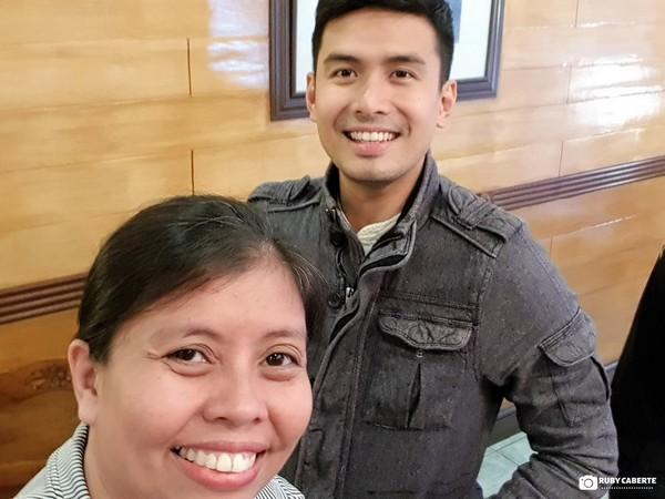 With Kapuso Star Christian Baustista